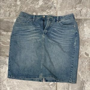 Nine West Jean skirt
